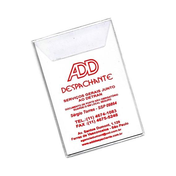 Porta Certificado DUT – PD29