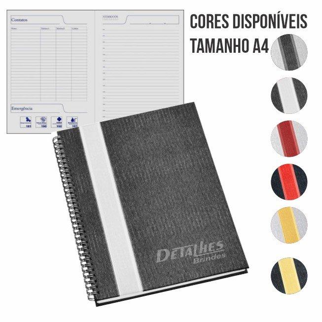 Caderno A4 Wire-o – CDR4