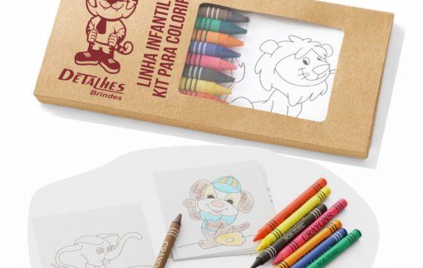Kit para Colorir Infantil – KCI2